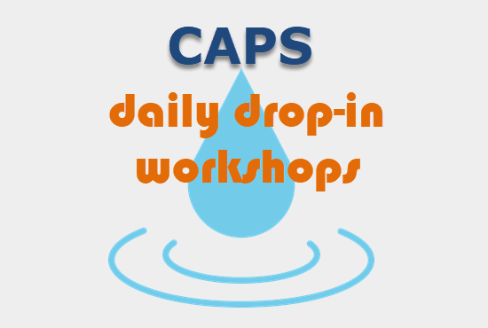 Daily Drop-In Workshops